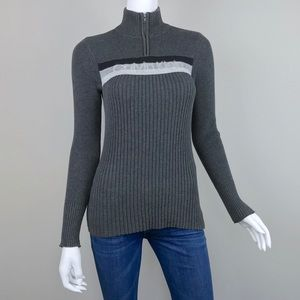 90's VINTAGE {Calvin Klein} Logo Spell Out Sweater